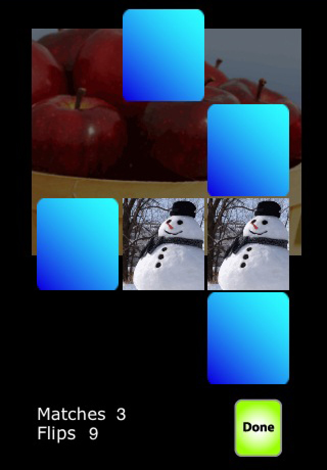 Screenshot PhotoMatchTots- children&#8217;s memory puzzle game